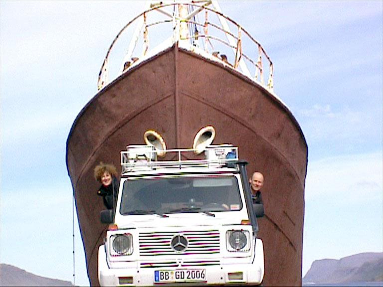 Mit dem G in Island