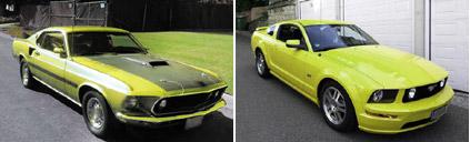 Mustang 1969 - 2006